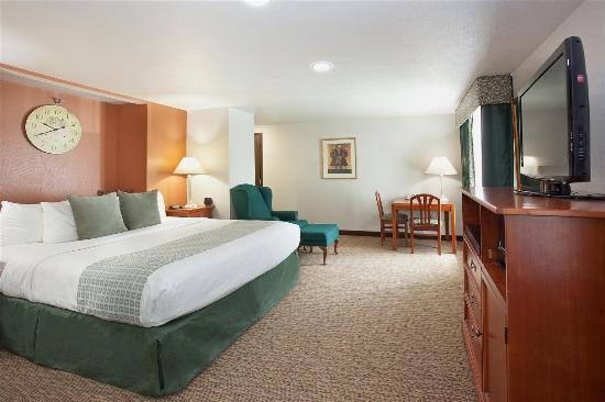 Comfort Inn & Suites Ashland: Guestroom