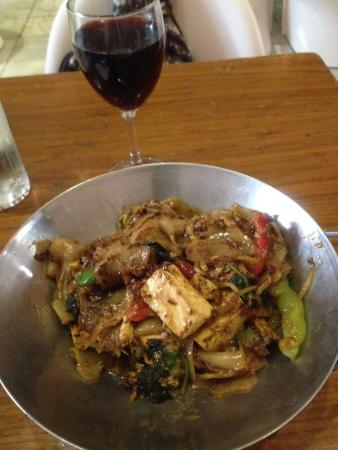 "Spice : Drunken Noodle (or ""Pad Ki Mao"" in Thai, main course in lunch set"