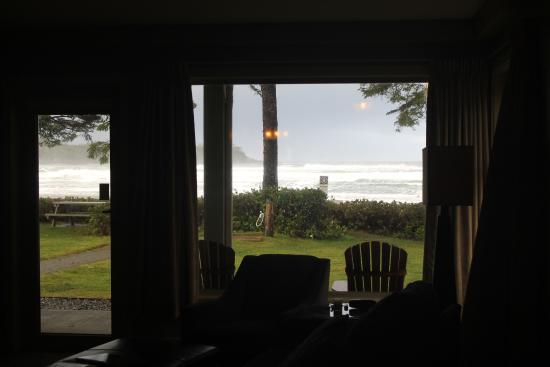 Pacific Sands Beach Resort: View from kitchenette