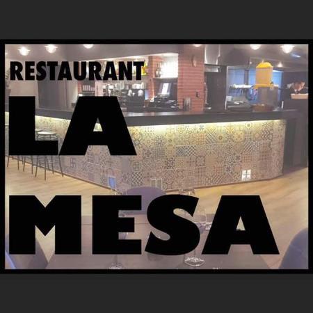la mesa restaurant castelldefels omd men om