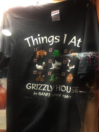 Grizzly House Restaurant: Souvenir T Shirt