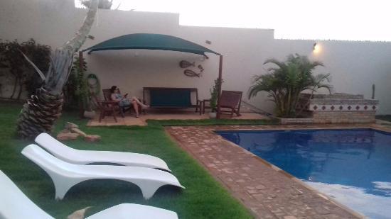 Residenza Canoa: Área da piscina