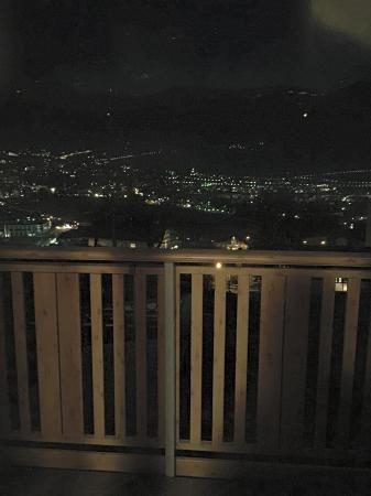 Garni Sunnwies: vista dalla camera, notte
