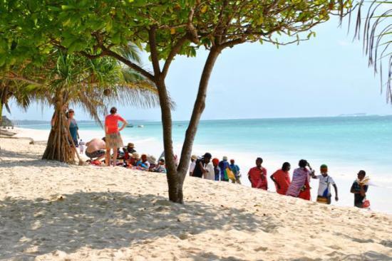 Neptune Pwani Beach Resort & Spa: Beach Boys