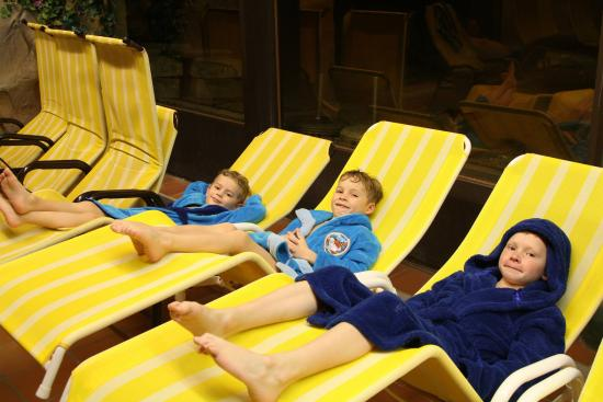 Ferienclub Bellevue am See: bazénová pauza