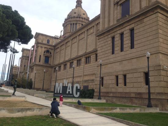 Le Foto Del Museo Blu A Barcellona : Le opere del museo foto di museu nacional d art de