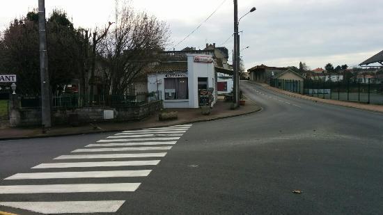 Thiviers, ฝรั่งเศส: Menu du jour