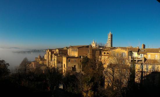 Hotel Duomo: Vista dal terrazzo della camera 61