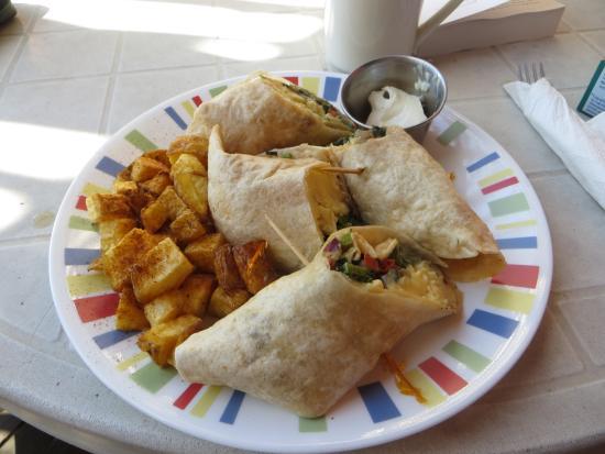 Citronella: Breakfast Burrito from Collette
