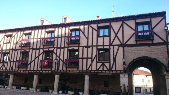 Penaranda de Duero, Spanyol: fachada