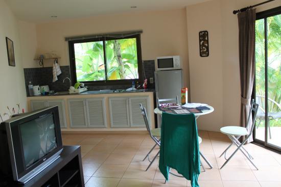 Soleil d'Asie Residence : кухня