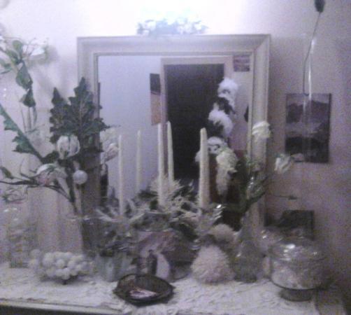 Bel Arrayo : Décoration de Noel dans l'entrée