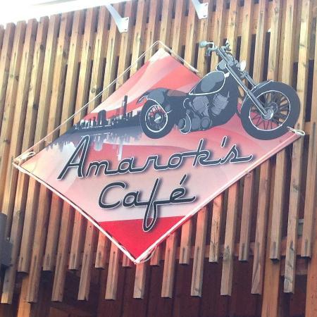 Ain, Francja: Façade du restaurant