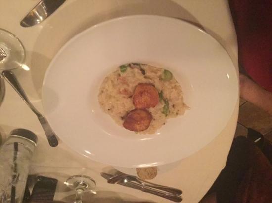 Grappa '72 Ristorante: risotto with scallops