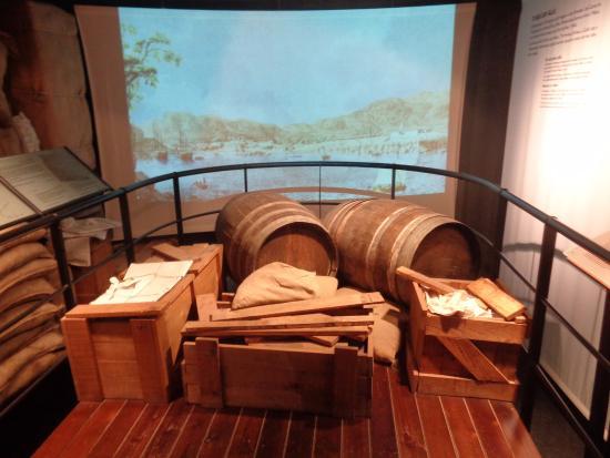 Museu del Mar - Can Garriga : RUMBO A AMERICA