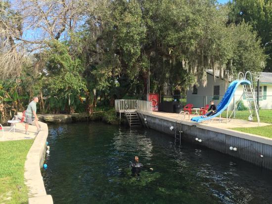 King's Bay Lodge: Old Florida Pool