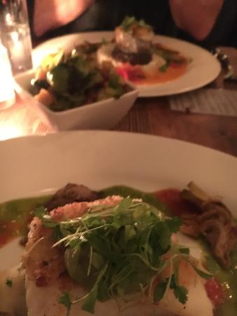 Extra Virgin : Amazing Seafood Dishes and Roasted Brussel Sprouts