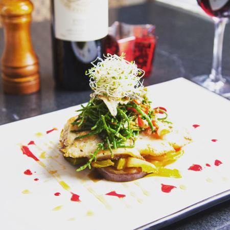 O'Connors Seafood Restaurant : Pan roasted hake