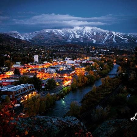 Downtown Steamboat at Night