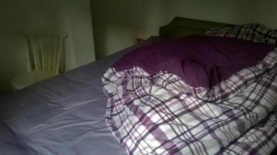 Lealholm, UK: Double bed