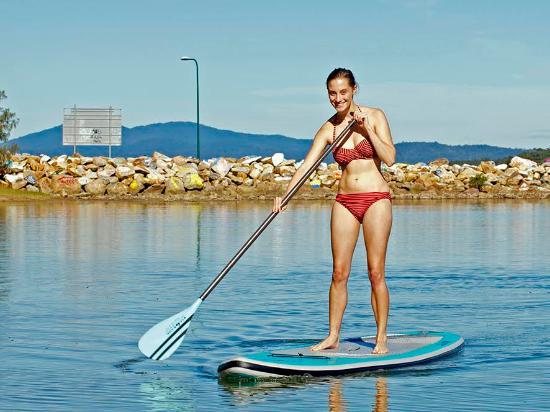 Scotts Head, Austrália: Paddle Boarding