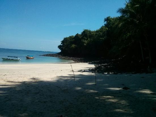 Isla Bolanos is a remote island in the Gulf of Chiriqui