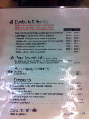 Carte Cafe Japonais Bordeaux.Photo0 Jpg Picture Of Cafe Japonais Bordeaux Tripadvisor