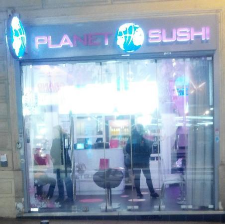 La devanture picture of planet sushi enghien les bains for Enghien les bain