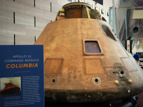 Apollo 11 Command Module Columbia - Picture of Smithsonian ...