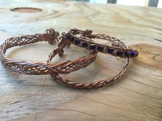 Корнуолл, Нью-Йорк: Beautiful Wire Wrap Jewelery