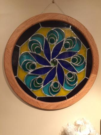 Cornwall, NY: hand made stain glass