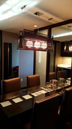 Vdara Hotel Spa City Corner Suite Dining Table