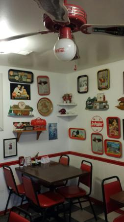 Ed Walker's Drive-In: Nostalgic Decor