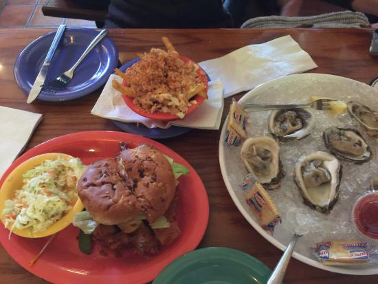 Frenchy's Original Cafe: Oysters, fries, and the famous grouper sandwich