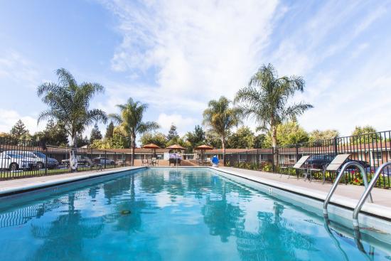 Tri-Valley Inn & Suites: POOL VIEW