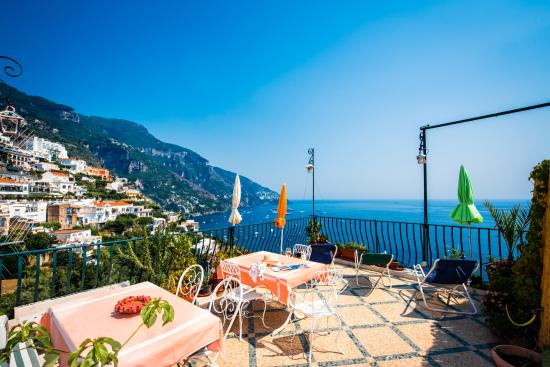 Pensione Maria Luisa - Amalfi Coast: The shared terrace