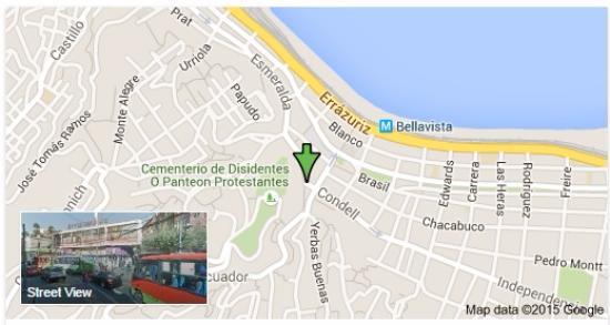 Puerta De Alcala: ubicación