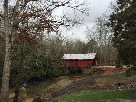 Landrum, Carolina del Sud: Campbell's Covered Bridge