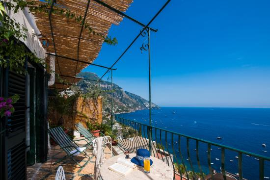Pensione Maria Luisa - Amalfi Coast: Private terrace view of the sea