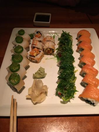 Upstream: Variety of Sushi Rolls