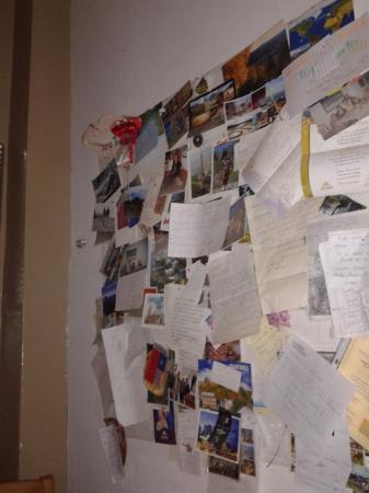 Hotel Viena: Recuerdos en la zona de charlas