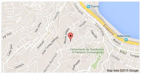 Hotel Casa Thomas Somerscales : ubicación