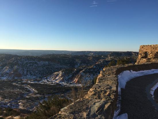 Canyon, Τέξας: Scenic Overlook