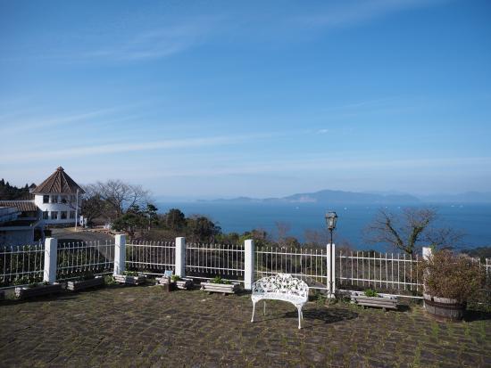 Minamata, ญี่ปุ่น: レストラン前から