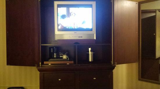 Toronto Airport West Hotel : In-Room TV