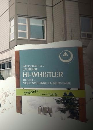HI-Whistler: Doorplate