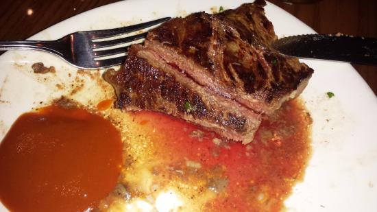 Outback Steakhouse: Overcook Steak