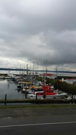 Port Townsend Inn: View from harbor inn.