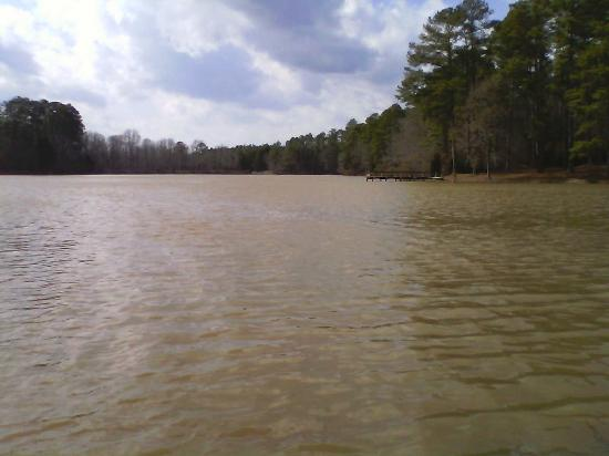 Chester, Carolina del Sur: The Lake in January