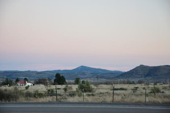 Alpine, TX: View from grounds